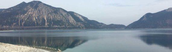 Mit dem Fahrrad um den Walchensee