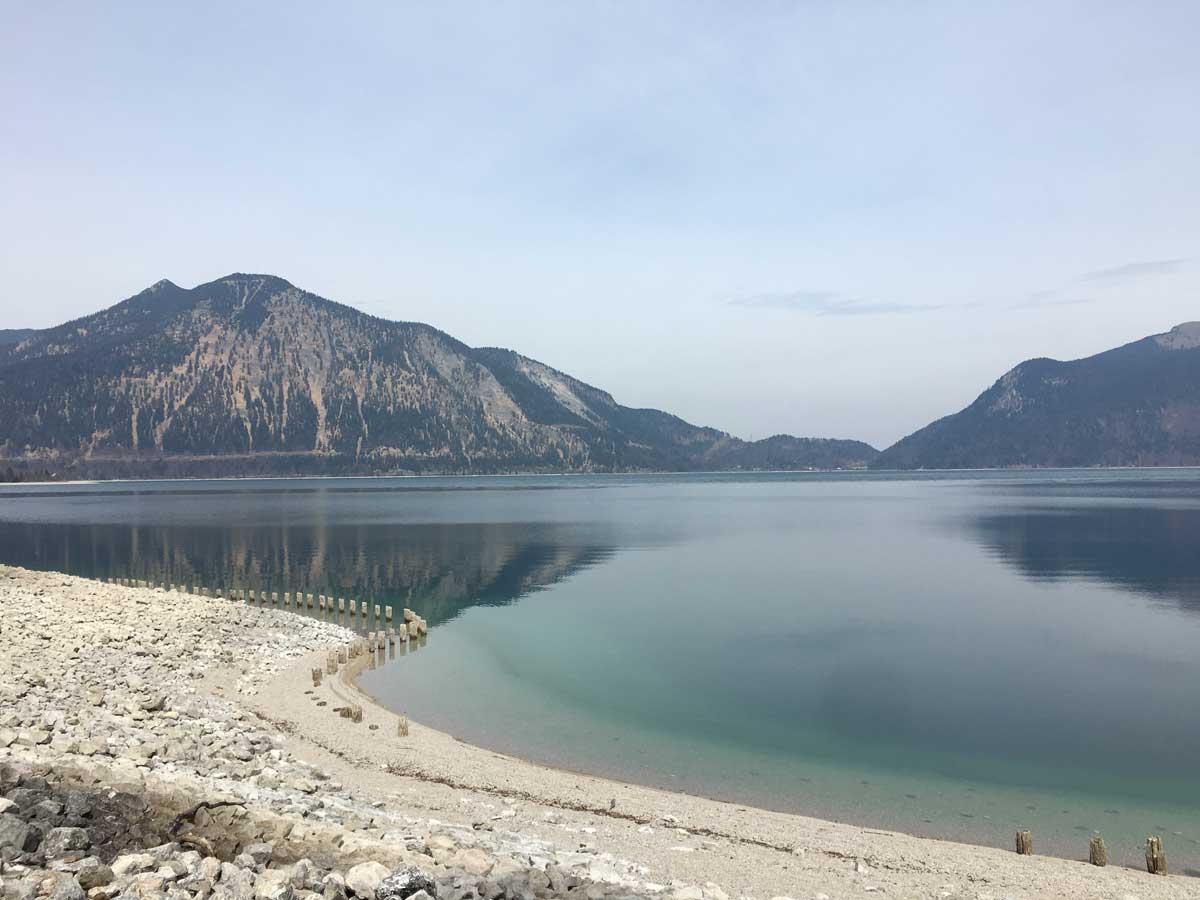 Radtour um den Walchensee